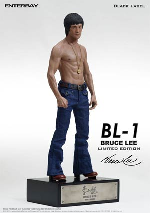 Bruce Lee Black Label Statue