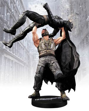 Dark Knight Rises Batman vs Bane 1/6 Scale Icon Statue