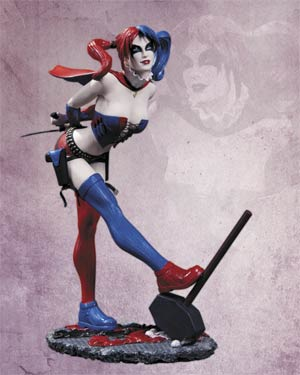 Cover Girls Of The DC Universe Harley Quinn New 52 Statue