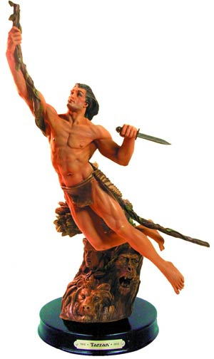 Tarzan Of The Apes 100th Anniversary Statue
