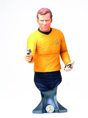 Star Trek Captain James T Kirk Mini Bust