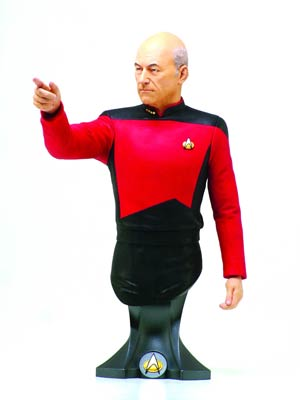 Star Trek Captain Jean-Luc Picard Mini Bust