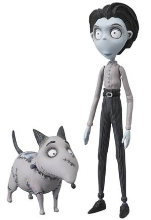 Frankenweenie Victor & Sparky Ultra Design Figure 2-Pack