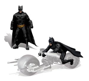 Batman The Dark Knight Rises 1/25 Scale Figure Set