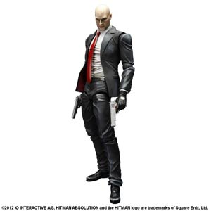 Hitman Absolution Play Arts Kai Agent 47 Action Figure