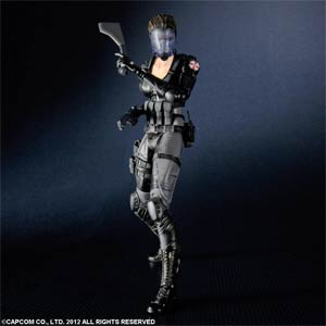 Resident Evil Operation Raccoon City Play Arts Kai Lupo Action Figure