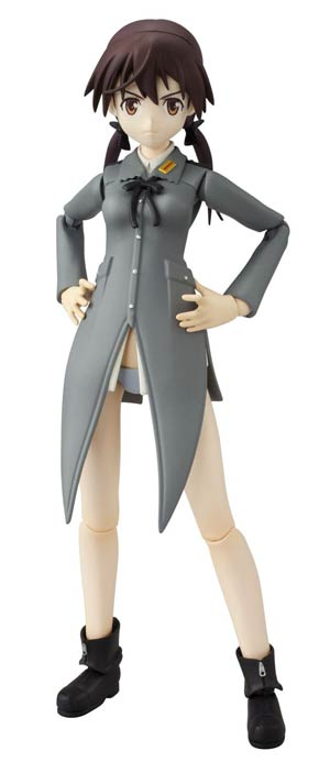 Strike Witches Armor Girls Project - Gertrud Barkhorn Action Figure