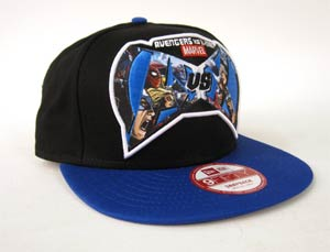 Avengers vs X-Men Blue Snapback Cap