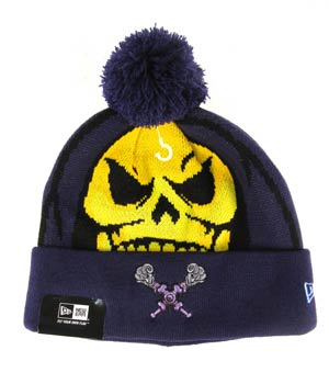 Woven Biggie Knit Cap - Skeletor