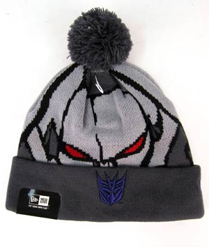 Transformers Megatron Woven Biggie Knit Cap