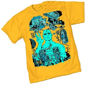 Before Watchmen Dr Manhattan II By Paul Pope T-Shirt Large