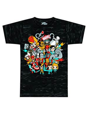 Marvel x tokidoki Superstars T-Shirt Large