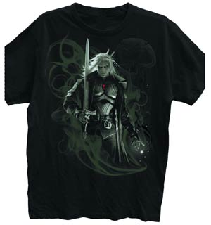 Magic The Gathering Sorin Portrait Black T-Shirt Large