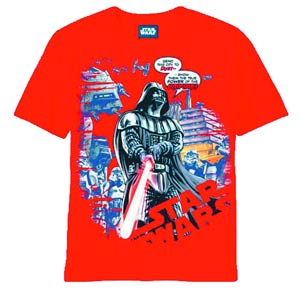 Star Wars Darth Vader Dust Grinder Previews Exclusive Red T-Shirt Large