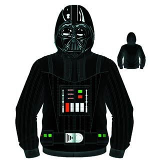 Star Wars Sith Full Face Vader Costume Hoodie Large