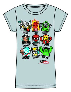 Marvel x tokidoki Moody Marvel Juniors T-Shirt Large