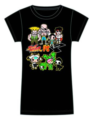 Street Fighter x tokidoki Brawl Juniors T-Shirt Large