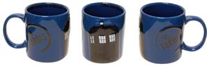 Doctor Who 2D Relief Ceramic Mug - TARDIS