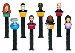 PEZ Star Trek The Next Generation Gift Set