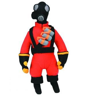 Team Fortress Plush - Pyro