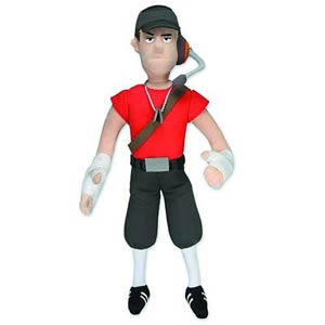 Team Fortress Plush - Scout