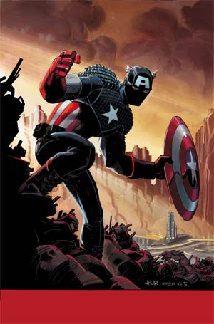 Captain America Marvel Now By John Romita Jr Poster