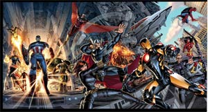 Marvel Now Avengers Poster