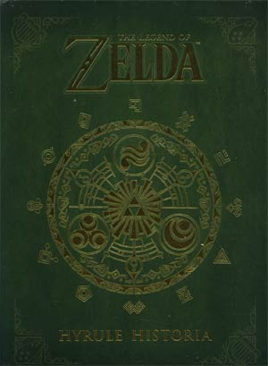 Legend Of Zelda Hyrule Historia HC Regular Edition