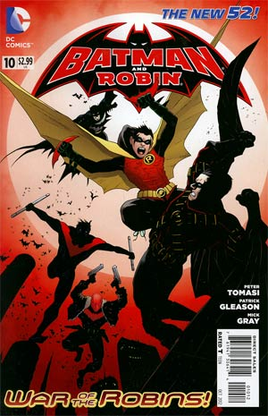 Batman And Robin Vol 2 #10 Cover B 2nd Ptg