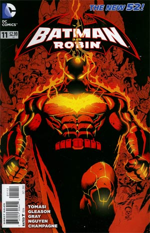 Batman And Robin Vol 2 #11 Cover B 2nd Ptg