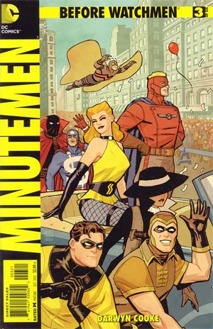 Before Watchmen Minutemen #3 Incentive Cliff Chiang Variant Cover