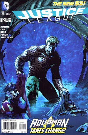 Justice League Vol 2 #12 Variant Jim Lee Cover