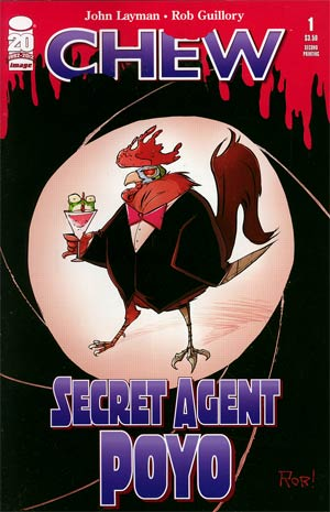 Chew Secret Agent Poyo #1 2nd Ptg