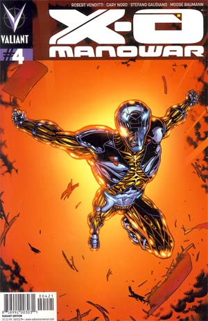 X-O Manowar Vol 3 #4 Incentive Don Kramer Variant Cover