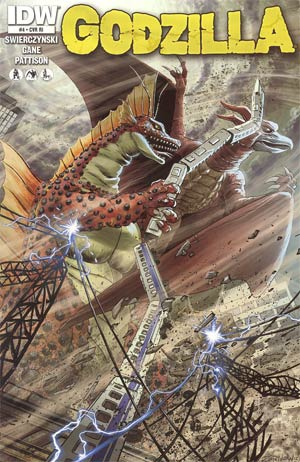 Godzilla Vol 2 #4 Incentive Jeff Zornow Variant Cover