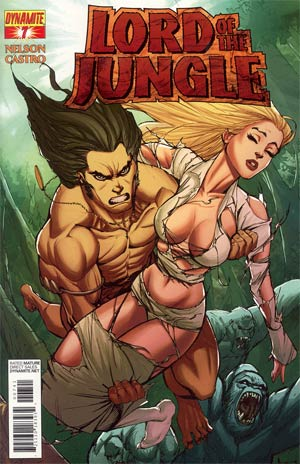 Lord Of The Jungle #7 Incentive Tattered & Torn Risque Cover