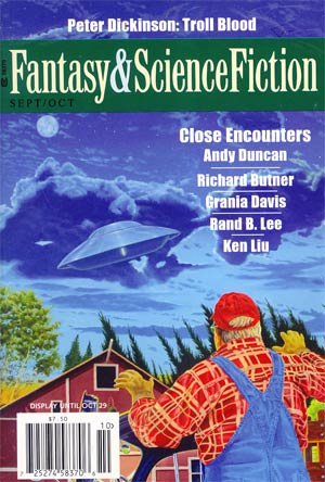 Fantasy & Science Fiction Digest Vol 123 #3 / #4 Sep / Oct 2012