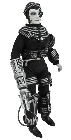 Star Trek The Next Generation Cloth Retro Borg Action Figure