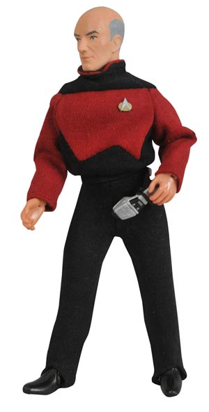 Star Trek The Next Generation Cloth Retro Picard Action Figure
