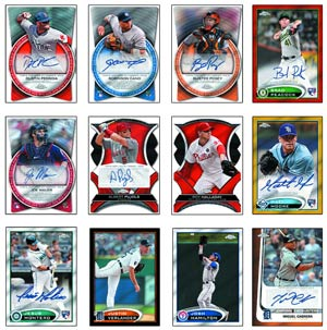 Topps 2012 Chrome Baseball Trading Cards Pack