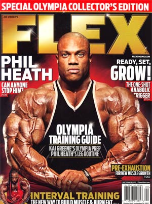 Flex Magazine Vol 29 #8 Sep 2012