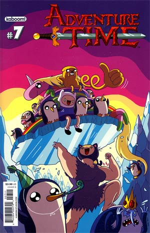 Adventure Time #7 Regular Cover B Jason Ho