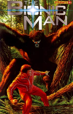 Kevin Smiths Bionic Man #12 Regular Alex Ross Cover