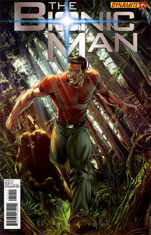 Bionic Man #12 Regular Ed Tadeo Cover