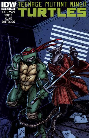 Teenage Mutant Ninja Turtles Vol 5 #13 Regular Cover B Kevin Eastman