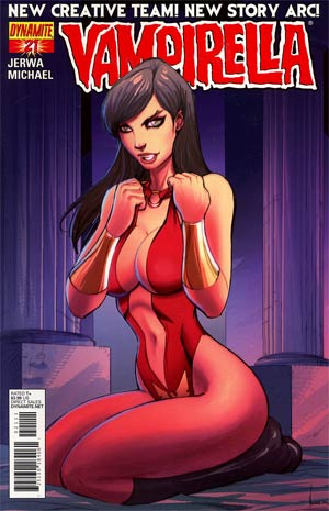 Vampirella Vol 4 #21 Regular Ale Garza Cover