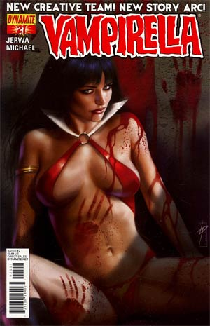 Vampirella Vol 4 #21 Regular Lucio Parrillo Cover
