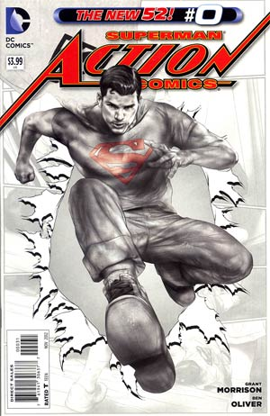 Action Comics Vol 2 #0 Cover E Incentive Ben Oliver Sketch Cover