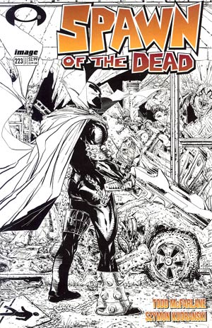 Spawn #223 Incentive Todd McFarlane Sketch Cover
