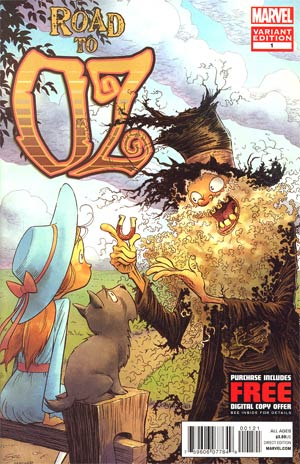 Road To Oz #1 Incentive Eric Shanower Variant Cover